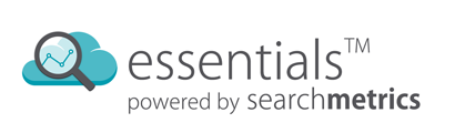 Essentials powered by Searchmetrics